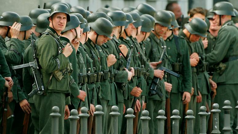 FAZ: газета Times назвала немецкую армию «вермахтом»