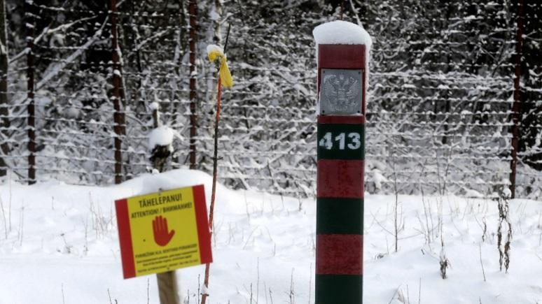 ERR: в Эстонии нашли способ сэкономить на обустройстве границы с Россией
