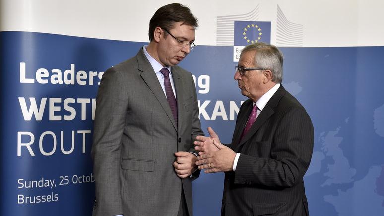 Politico: Сербия расширяет экономические связи с Россией, несмотря на предупреждения ЕС