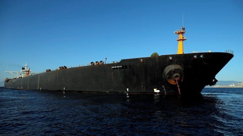 Times: Россия предложила Ирану везти нефть через Крым