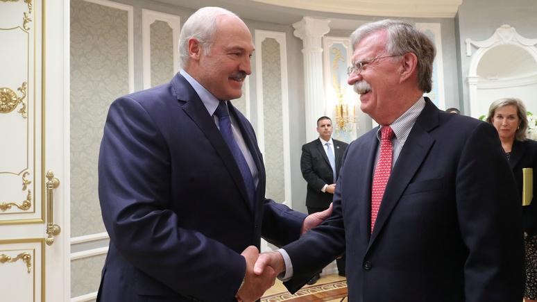 МИД Белоруссии: мы не идём к США с протянутой рукой
