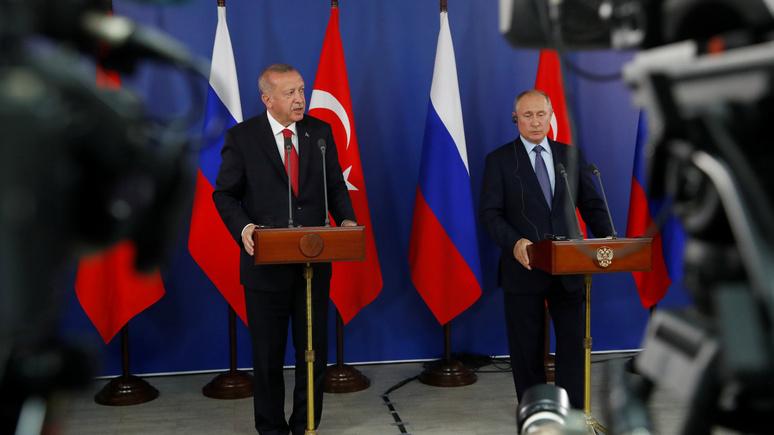 Globalist: чего бы ни хотел Эрдоган, Путин «вертит им как вздумается»