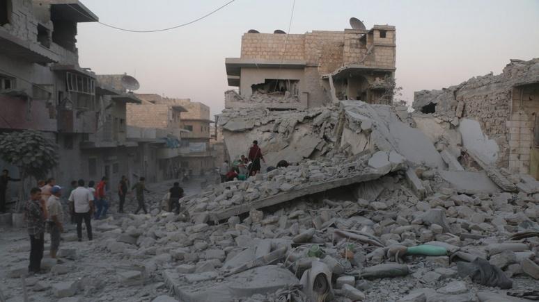 Die Zeit: несмотря на перемирие, США нанесли удар по зоне безопасности в Сирии