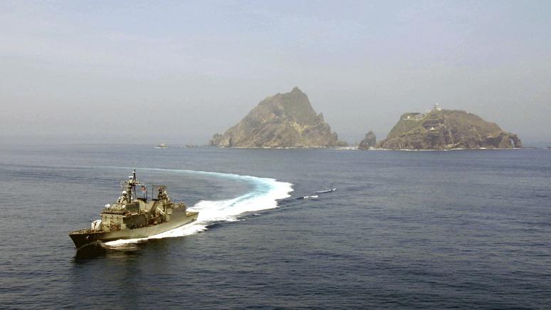 Mainichi: опять за своё — после Курил японский депутат предложил отвоевать острова у корейцев