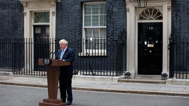 Guardian: либо досрочные выборы, либо брексит без сделки — Джонсон выдвинул парламенту ультиматум