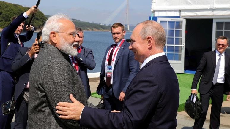 Indian Express: «важный друг и надёжный партнёр» — Моди оценил сотрудничество с Россией