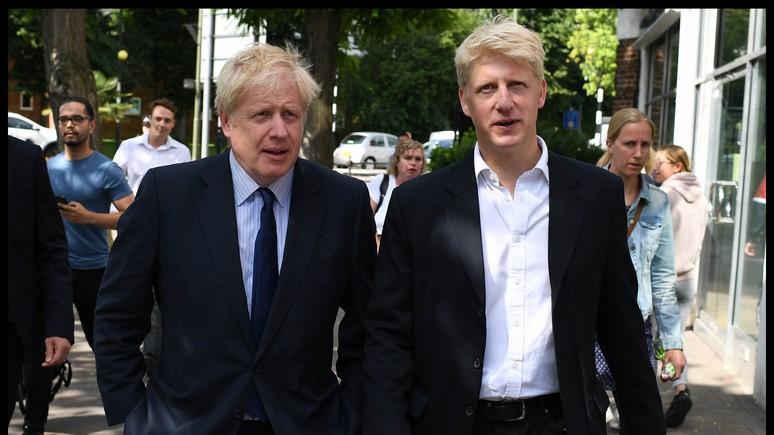 Le Monde: стратегия Джонсона по брекситу не убеждает даже его брата