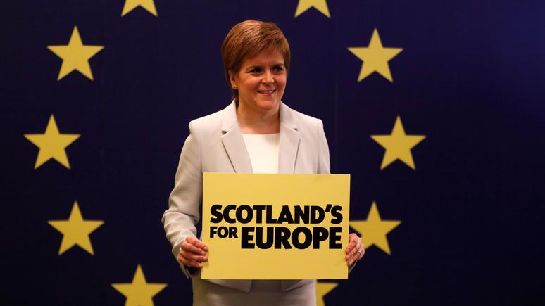 Никола Стёрджен: в случае брексита Шотландия будет голосовать за свою независимость