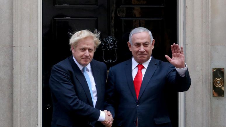 Sky News: спутал двух Борисов — Нетаньяху случайно назвал Джонсона Ельциным