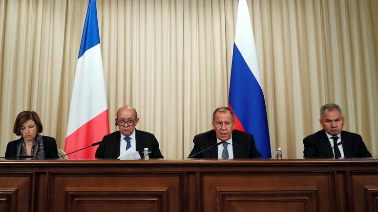 OF: глава МИД Франции похвалил Россию за прогресс по Украине, но снимать санкции ещё рано