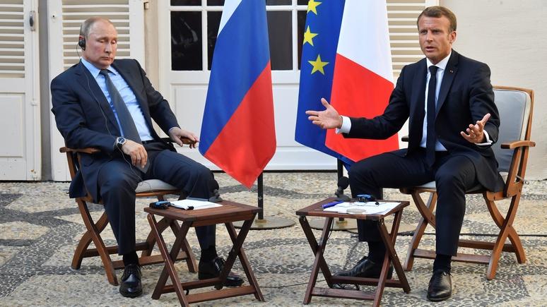 Эксперт: Макрон прав — с Россией нужно мириться, и как можно скорее