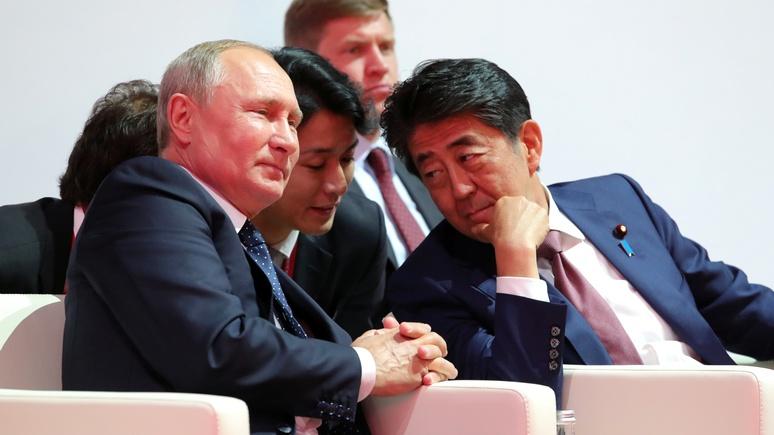 Аналитик Nikkei: Абэ пора перестать унижаться — так Курилы не вернуть