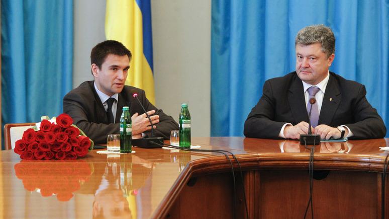 112: против Порошенко и Климкина открыли уголовное дело