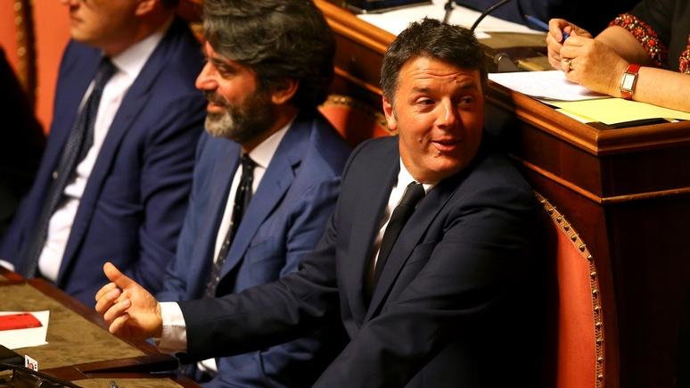 Times: планы Ренци создать свою партию заставляют усомниться в стабильности нового правительства Италии