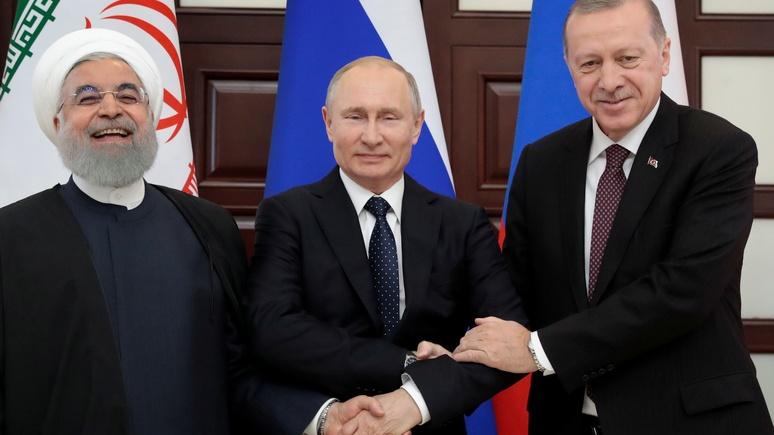 Stuttgarter Nachrichten: на встрече по Сирии Путин может расслабиться — лучшие карты на руках у него