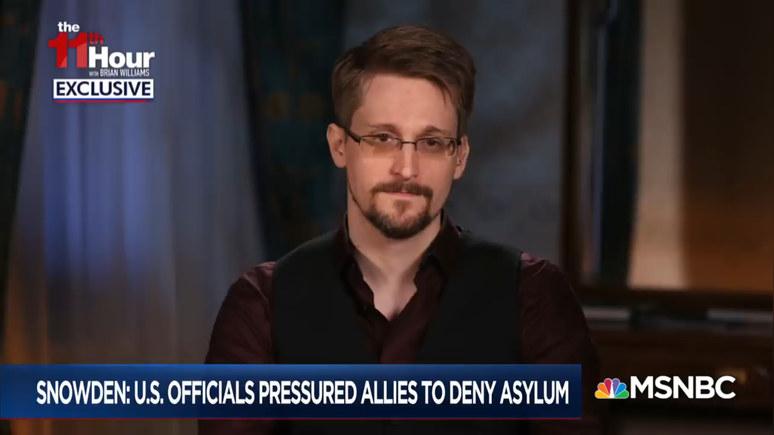 Сноуден: я хотел не сжечь АНБ дотла, а лишь реформировать его — ИноТВ
