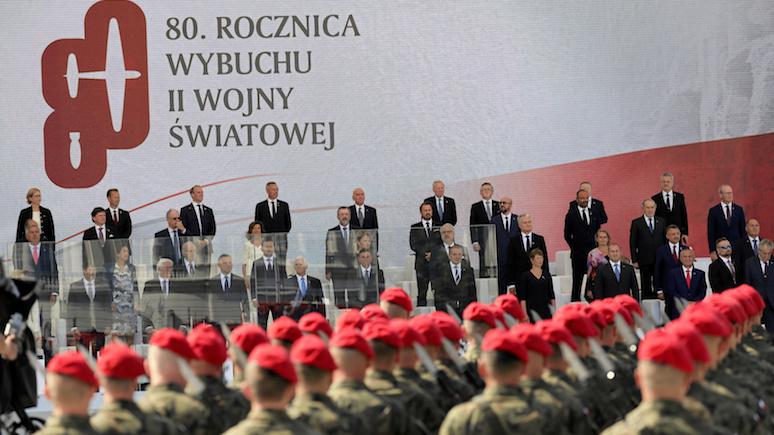 WP: в России держатся за свою версию «раздела Польши», чтобы не давать повода для требования репараций