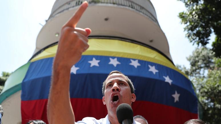 Times: не сдержал обещания — венесуэльцы всё больше разочаровываются в Гуаидо