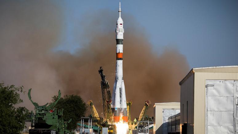 The National: российский «Союз» стал самым надёжным «космическим такси»