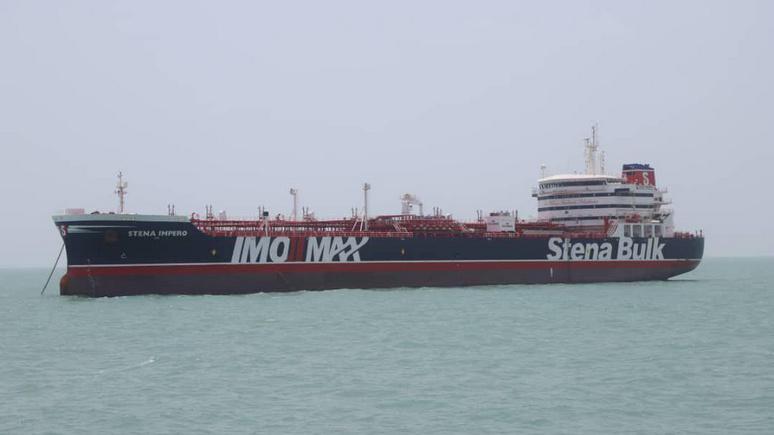 WSJ: Иран отпустил британский танкер Stena Impero накануне сессии Генассамблеи ООН