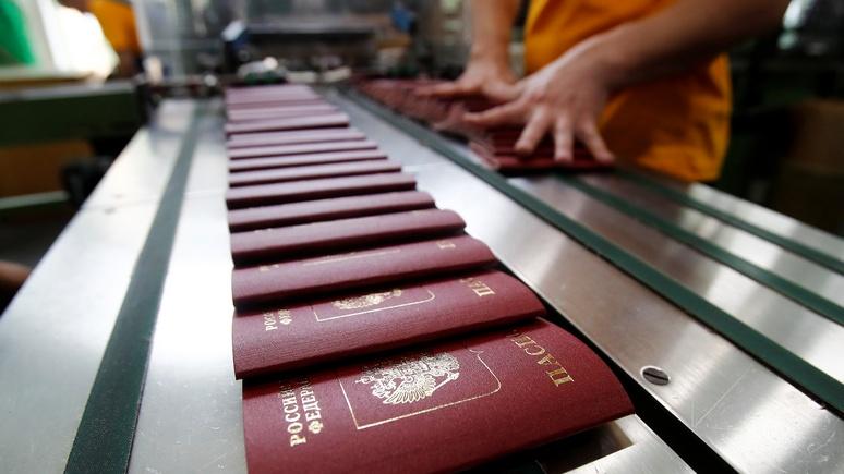 Bild: немецкие визы в паспортах жителей Донецка и Луганска возмутили депутата бундестага