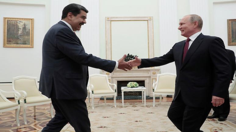 El País: Мадуро приехал в Москву напомнить миру, что у него остались могущественные союзники
