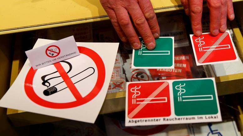 Le Monde: у австрийских курильщиков остался один верный защитник — ультраправые
