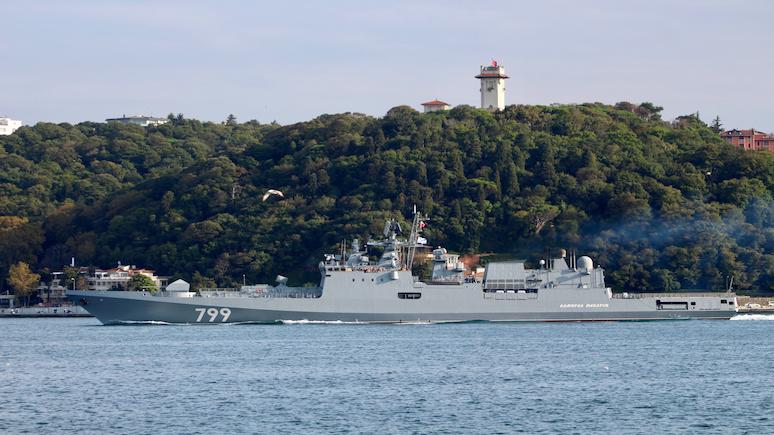 Japan Times: Россия укрепляет военно-морское присутствие в Средиземноморье