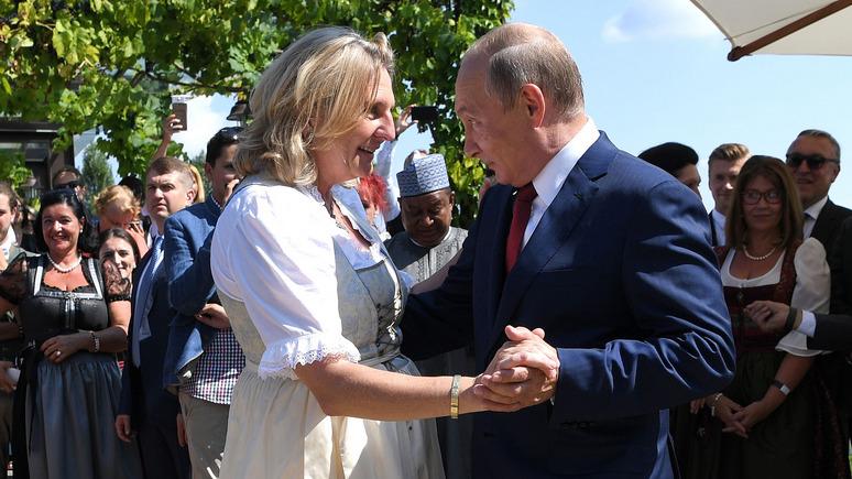 Le Figaro: экс-глава МИД Австрии призвала налаживать связи с Россией