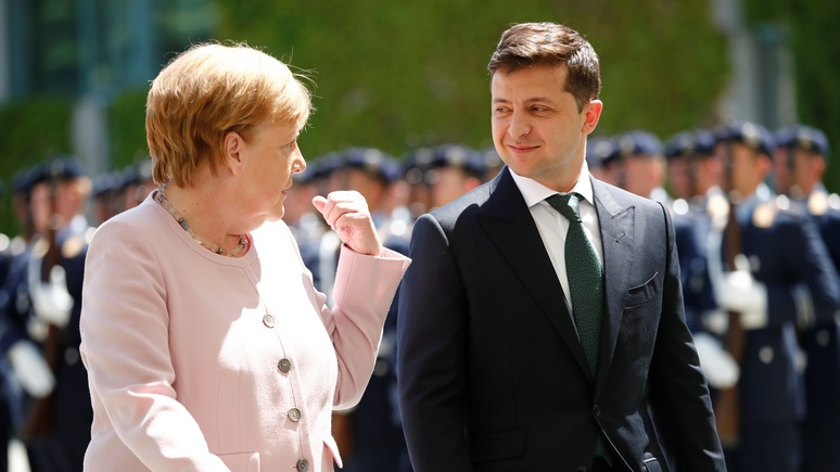 Spiegel: втираясь в доверие к Трампу, Зеленский оскорбил немецкое правительство