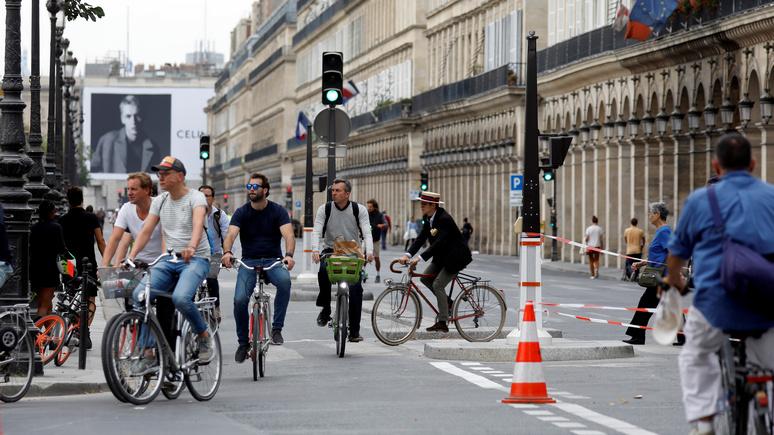 Le Figaro: Франция намерена вернуть себе звание «велосипедной страны»