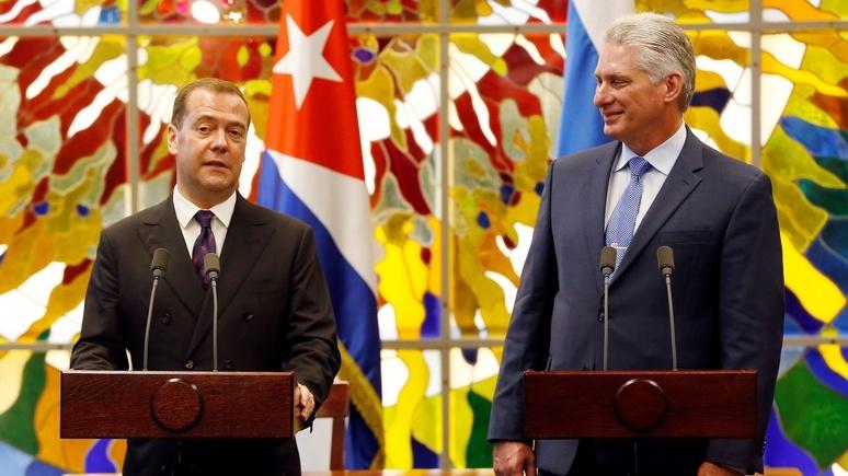 Le Figaro: Медведев обвинил США в энергетической блокаде Кубы