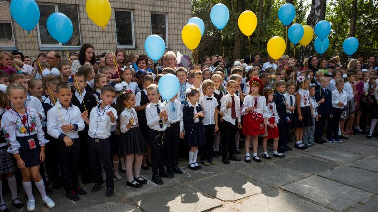 Корреспондент: русскоязычные школы перейдут на украинский язык в 2020 году