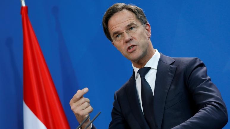 Премьер-министр Нидерландов: только США могут защитить ЕС от России и Китая