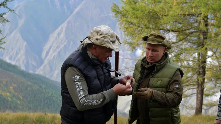 India TV: в день рождения торту со свечками Путин предпочёл тайгу