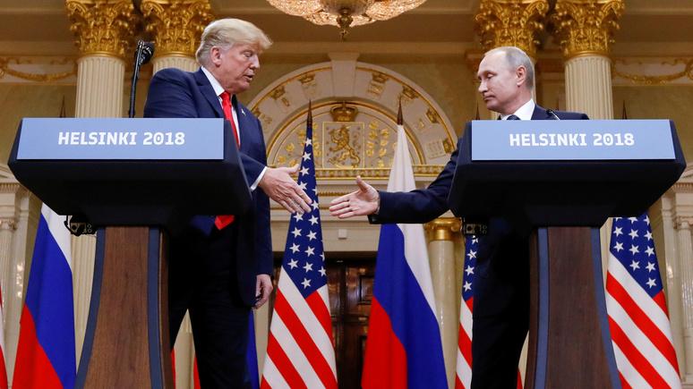 Newsweek: экс-офицер военной разведки США назвал Трампа «путинским министром иностранных дел»