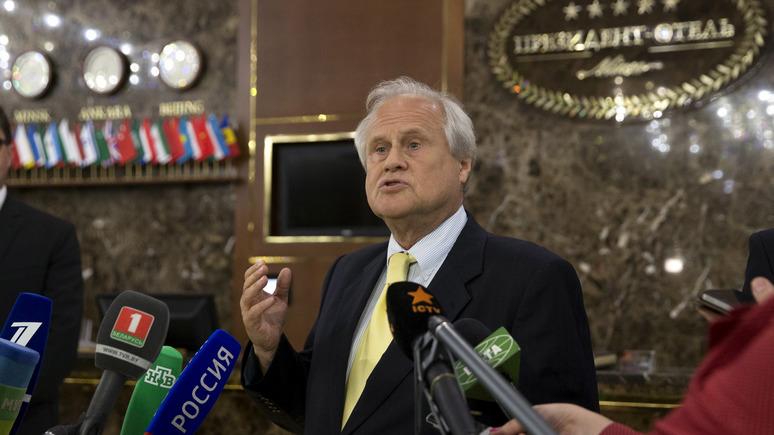 24 канал: спецпредставитель ОБСЕ Сайдик отказался отвечать на вопрос о Крыме
