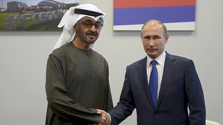 Обозреватель Bloomberg: путинская Россия нашла себя на авторитарном Ближнем Востоке