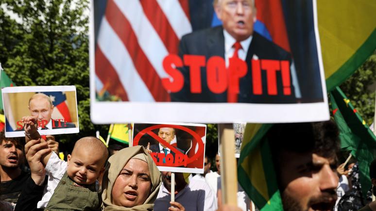 Dagens Nyheter: «сирийский подарок» Трампа Путина определённо порадовал