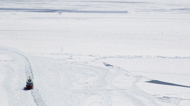 Bloomberg: таяние льдов подогревает конкуренцию арктических держав