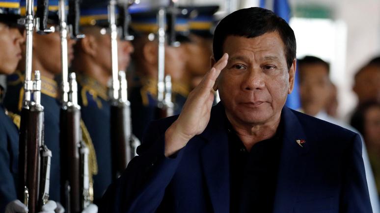 Forbes: «умный ход» — Дутерте подружится с Россией, чтобы остановить Китай