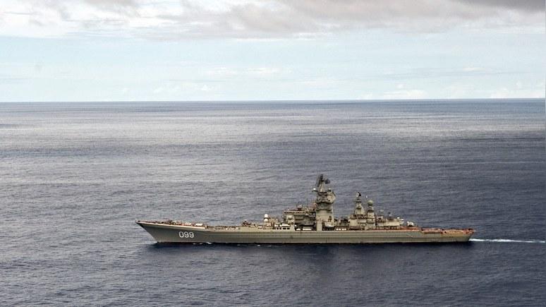 Inquisitr: конгрессмен поздравил ВМС США фотографией российского крейсера