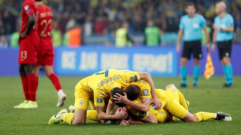 «Мы не как Россия»: украинский нападающий прокомментировал выход своей сборной на Евро-2020