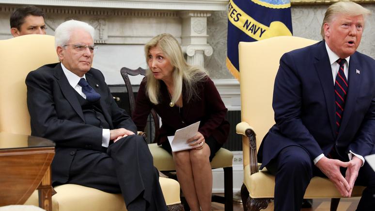 Times: не то Моцарелла, не то Моторола — оговорка Трампа об итальянском президенте взбудоражила соцсети