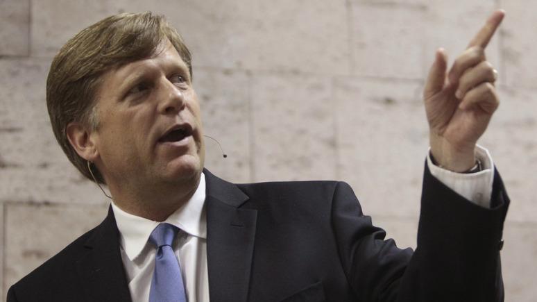 Макфол: «украинский скандал» показал, что американской дипломатии нужна большая чистка