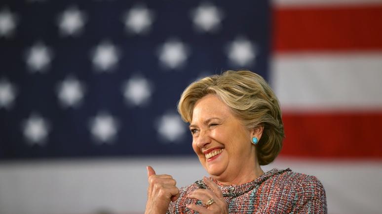 Washington Times: Клинтон намекнула на нового фаворита России на выборах в США