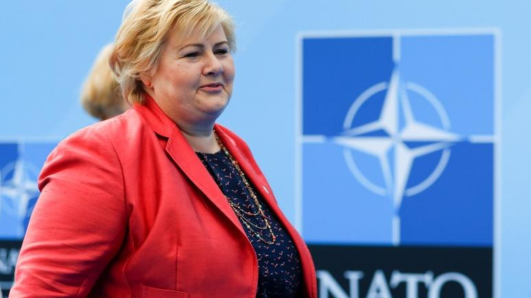 FAZ: «окажемся на пути у России» — премьер Норвегии призвала не быть наивными и вооружаться