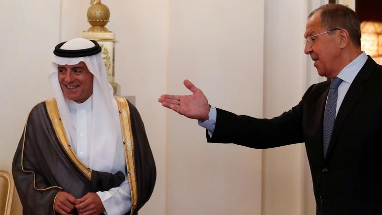 Обозреватель Arab News: из отдалённой страны Россия превратилась для Саудовской Аравии в партнёра