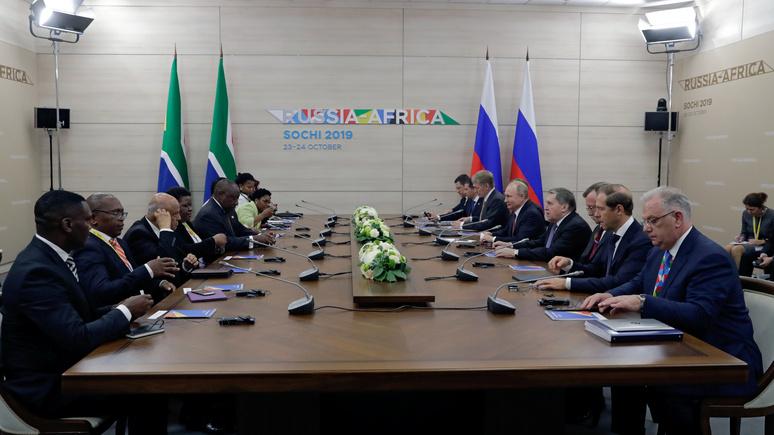 TV5 Monde: несмотря на громкие заявления, Москва остаётся в Африке «экономическим карликом»