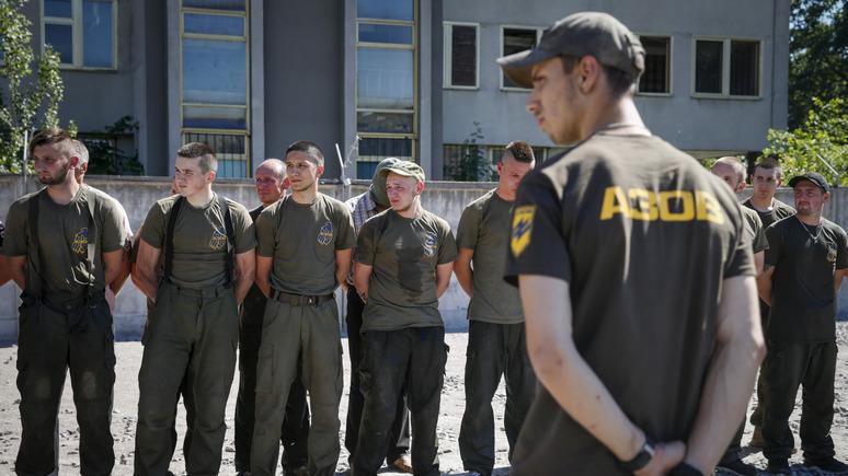 СТРАНА: Аваков решил, что раз в конгрессе США «Азов» связывают с террористами, значит это «знак качества»